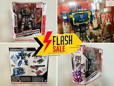 🔥 Transformers SOUNDWAVE Netflix War Cybertron LASERBEAK RAVAGE Cassette Tape