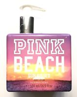 Victoria's Secret Pink Beach Sun Kissed Body Lotion Used 70% Left Rare 16.9 oz