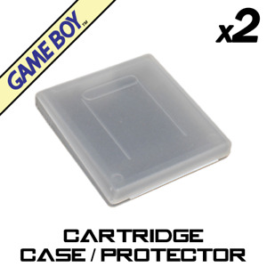 Cartridge Case Protector x2 (GB, GBC, Gameboy, Color)