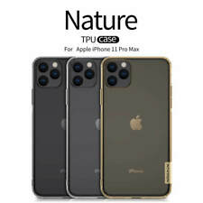 Original Nillkin Nature Clear Soft Silicone TPU Cover Back Case Slim For Phones