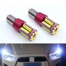 Car Parking Lights 2 Ampoules LED De Voiture Chips Samaung Pour Le Stationnement