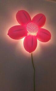 Ikea Smila Blomma Pink Flower Wall Light