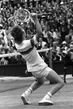 John McEnroe Winning Wimbledon Tennis 1981 18x24 Poster