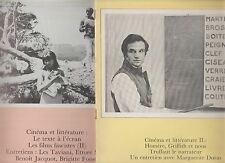 CINEMATOGRAPHE 1977- n°31 & 32- Cinéma et littérature- Duras, Syberberg,Truffaut