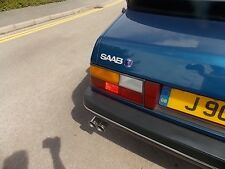 SAAB 900 classic TRUNK   badge BOOT badge 1982-1993 HATCHBACK    turbo Injection