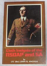 BENDER Book CLOTH INSIGNIA of the NSDAP & SA By Angolia Reference WW2 GERMAN