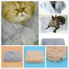 Pet Blankets Fluffy Dog Cat Sleeping Mats Winter Covers For Small Large Dogs L