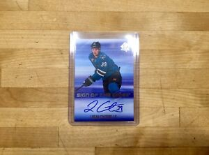 2017-18 - SP Authentic - Sign of the Times - Logan Couture - Auto Card #SOTTLC