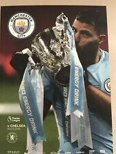 Man City FC v Chelsea FC Programme (Season 2017/2018)