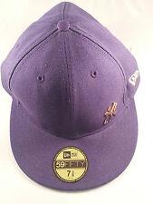 59 fifty new era  baseball cap purple new york yankees hat sun size 7 3/8  59 cm