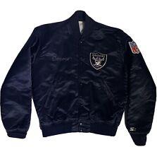 Vintage Oakland Raiders Authentic Pro Line By Starter Jacket Size Medium