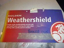 Holden Captiva weathershield