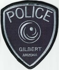 Gilbert Police Patch Arizona AZ