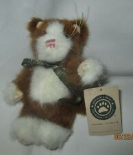 BOYDS BEARS & FRIENDS Cat, Brown & white,  Archive Collection 6 inch