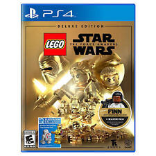 LEGO Star Wars: The Force Awakens-Deluxe Edition (Sony PlayStation 4 PS4, 2016)