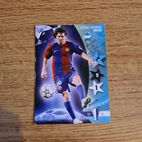PANINI UEFA CHAMPIONS LEAGUE 2007 OFFICIAL TRADING CARD LIONEL MESSI BARCELONA