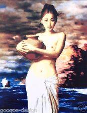 Stickpackung Unverhüllte Frau 49x61 cm Frau Asien Nackt Woman Thai Asian #80010