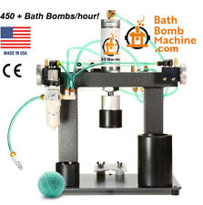 Bath Bomb Machine Press, 450+ Fizzies/hour.  Free US shipping!  60-day returns!