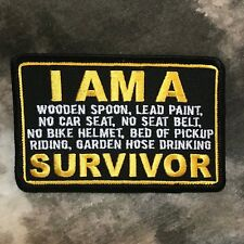 "I Am A Survivor ""Old School"" Patch"