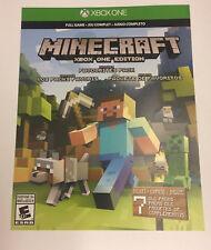 Minecraft Xbox One Game Card - CAN EM@IL!!