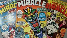 DC Comics Mister Miracle v1 #1 2 3 Jack Kirby New Gods Mid Grade No CGC