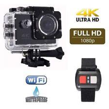 Fotocamera subacquea FULL HD sport cam WIFI macchina fotografica 4K telecomando