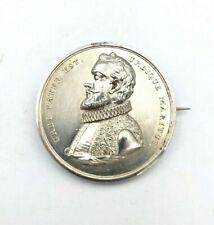 More details for 1857 george heriot hospital edinburgh brooched medallion awarded to james lyon