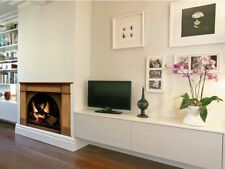 Fireplace wall decal, fireplace stickers, wall decals for living room decoration