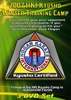 2007 Kyusho Extreme Self Defense Jack Hogan HKI Seminar 3 DVDs