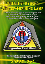 2007 Kyusho Extreme Self Defense Jack Hogan Seminar 3 DVDs