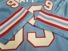 #00 Houston Oilers Football Jersey  Your Name sewn ON.3XL,4X,5XL,6XL,7XL.