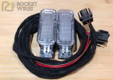 Audi A1 A3 A4 A5 A6 TT Q3 Q5 Footwell Light Lighting Loom Harness wiring Kit