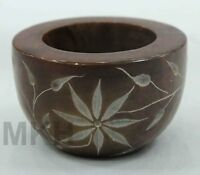 433 Taj Mahal Candle Stand Pietra Dura Hand Carved Natural Stone Candle Holder