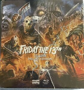 Friday the 13th Collection Scream Factory Deluxe Edition *Brand New* Region A