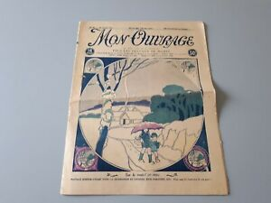 Revue ancienne broderie Mon Ouvrage 1927 N° 94