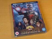 MARVEL Iron Man 2 - Zavvi Exclusive Limited Edition Steelbook [4K UHD + Blu-ray]