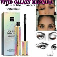 Vivid Galaxy Mascara Silk Fiber Lashes Thick Lengthening Waterproof Mascara Hot