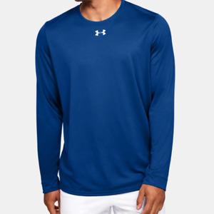 Under Armour Men's UA HeatGear Locker 2.0 Long Sleeve Shirt. Royal .1305776