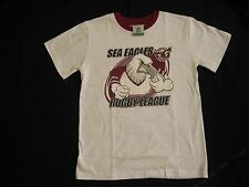 NRL MANLY SEA-EAGLES T-shirt Kids size 12c  w/tag NEW!