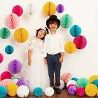 5/10PCS Paper Lantern Honeycomb Balls Tissue Pom Pom Party Wedding Hanging Decor