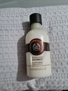 THE BODY SHOP Coconut Shower Cream 250ml –BRAND NEW – FOR ALL SKIN TYPES