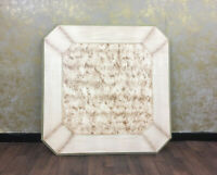 Voglauer Anno 1700 Vieux Blanc Table Maison de Campagne 120x120 cm Bois Massif