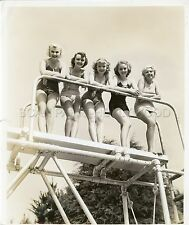 LOUISE SMALL HELENE MOLLER KAY GRIFFITH COLLEGE HOLIDAY 1936 PHOTO ORIGINAL