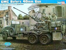 Hobbyboss 1:35 GMC Bofors 40mm AA Gun Truck Model Kit