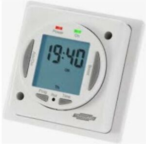 Timeguard 7 Day Compact Electronic Immersion Heater Timeswitch NTT03