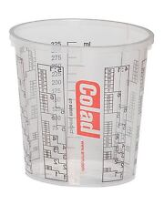 Colad Solvent Proof Mixing Cup - 350ml x 50 & 5 x 350ml Lids (colcup350)