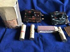 Vintage 1920s ROLMONICA BUNDLE 2 HARPS 5 Rolls Original Box! Wow!!!