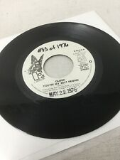 QUEEN You're My Best Friend ELEKTRA 45 Promo White Label Vinyl Rare Glam