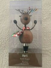 New listing New, Sealed - Pier 1 Holiday Reindeer Wine Stopper