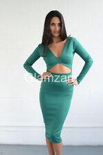 Vestiti da donna verde party taglia M